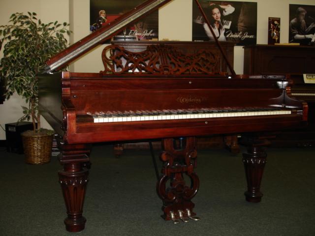 1860's Chickering Grand Piano